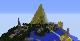 Asgard City - Thor - My own version Minecraft Map & Project