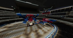 WWE WrestleMania 32 Stage Minecraft Project