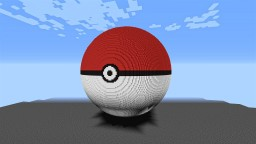 Giant Pokeball made with WorldEdit