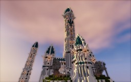 The Castle of Atlantis Minecraft Map & Project