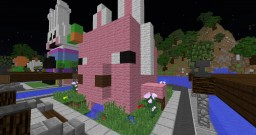 Drooling Easter Pig Minecraft Map & Project