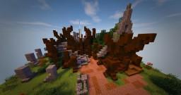Wood Elven Druid's Den Tutorial Minecraft Project