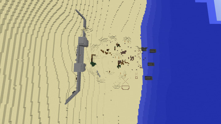 Best dday minecraft maps projects planet minecraft omaha beach d day call to battle mod not official map minecraft map publicscrutiny Image collections
