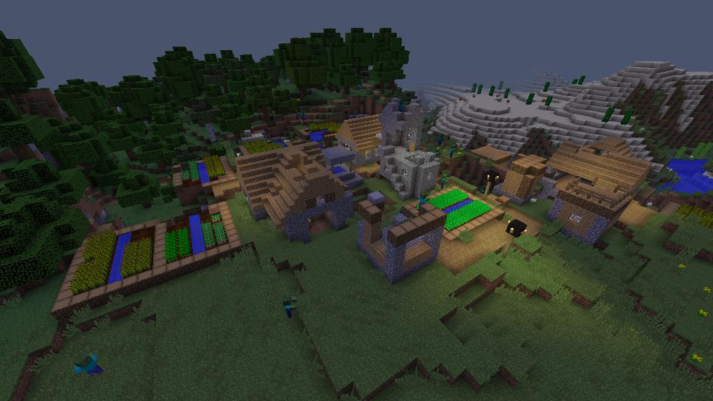 minecraft crafting dead map
