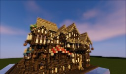 Small Medieval Port Town Minecraft