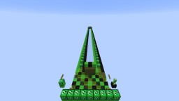 Creeper Lucky Block Race Minecraft Map & Project
