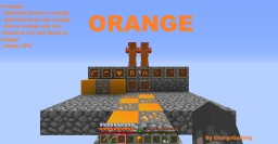 Orange Diamond stuff , Bow and fishing rod by ChargoGaming 32x32 Minecraft Texture Pack
