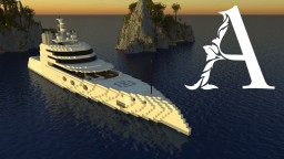 MY 'A' - Superyacht [1:1 Scale] Minecraft Project