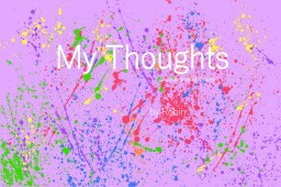 My Thoughts | A Collection of Poems
