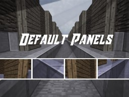 Vertical Panels [Add-on] Minecraft