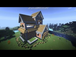 Cozy classic rest house Minecraft