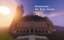 Vredespaleis - The Peace Palace by TymeRyder Minecraft Map & Project