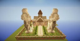 The Kings House Minecraft Map & Project