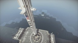 Realistic SpaceX Falcon 9 Landing Minecraft Map & Project