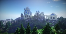 Fantasy Castle Build Minecraft Map & Project