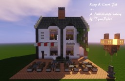 King & Court Pub - British eatery by TymeRyder Minecraft Map & Project