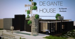DE GANTE House by De Gante Architects. Minecraft Project