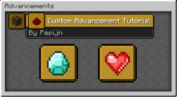 Minecraft Advancements and Functions Tutorial [1.12]