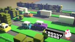 Crossy Road Game Minecraft Minecraft Map & Project