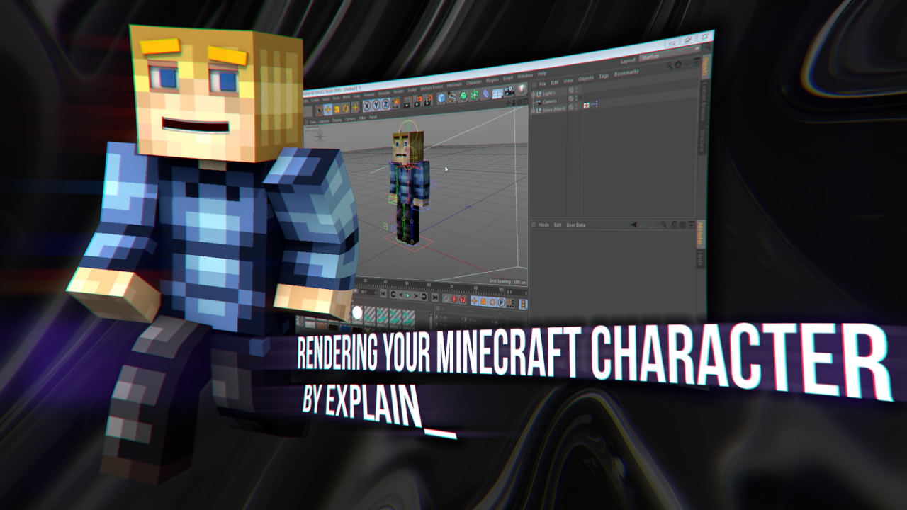 Character Design C4d Tutorial : Tutorial create your own character render using c d