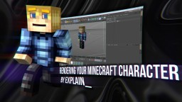 TUTORIAL: Create your own character render! (USING C4D) Minecraft Blog Post