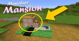 Miniature Mansion In One Command! 1.11.2 Minecraft Map & Project