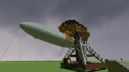 Hindenburg 80th anniversary Minecraft Map & Project