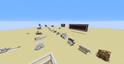Redstone Testing World (January 2018) Minecraft Map & Project