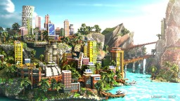 Color Divercity - City by the Bay Minecraft Map & Project