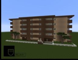 Communist Architecture | Apartment Building Romania Minecraft Map & Project