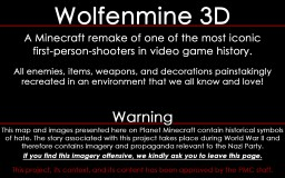 Wolfenmine 3D Episode 01 - Level 01