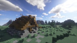 Viking House + DOWNLOAD Minecraft Map & Project