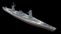 Fictional Japanese Battleship - 和泉 (Izumi) Minecraft Project