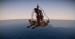 Small Viking Boat (Download) Minecraft