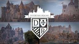 DIVERGING REALMS - Medieval Creative Server Minecraft