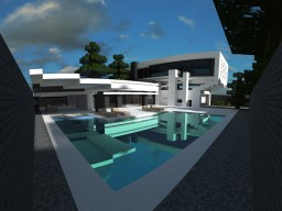 Modern house version simple Minecraft Project