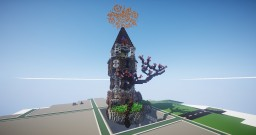 Fantasy Tree Tower (Cubed Creative) Minecraft Map & Project