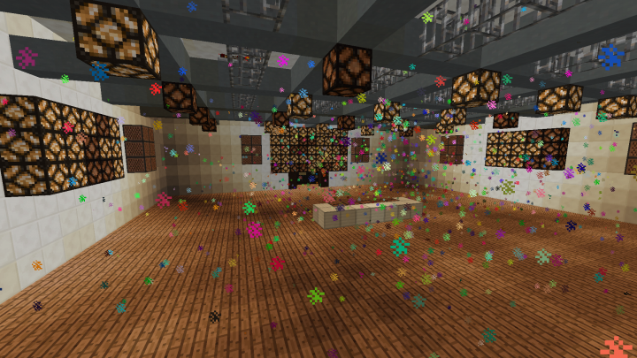 Sound Room with new fancy particle system