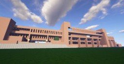 University of Texas at Arlington - Fine Arts Building Minecraft