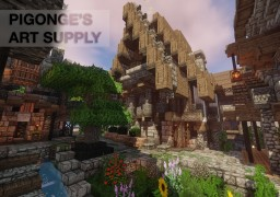 Pigonge's Art supply Minecraft Map & Project
