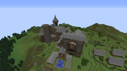 Harry Potter (Inspired From Books) WIP (V0.7) Minecraft Map & Project