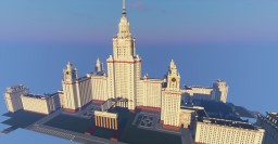 MOSCOW | REALISTIC CITY PROJECT | SEARCHING FOR A SERVER Minecraft Map & Project