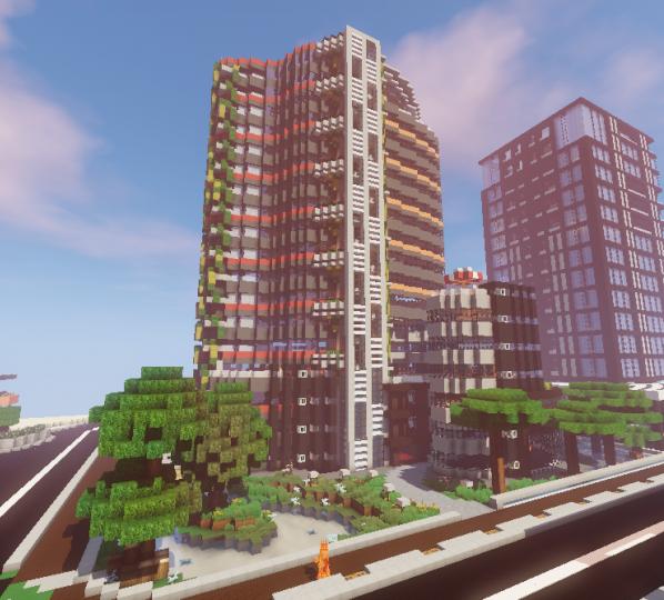 Minecraft Apartment: Apartment Minecraft Map