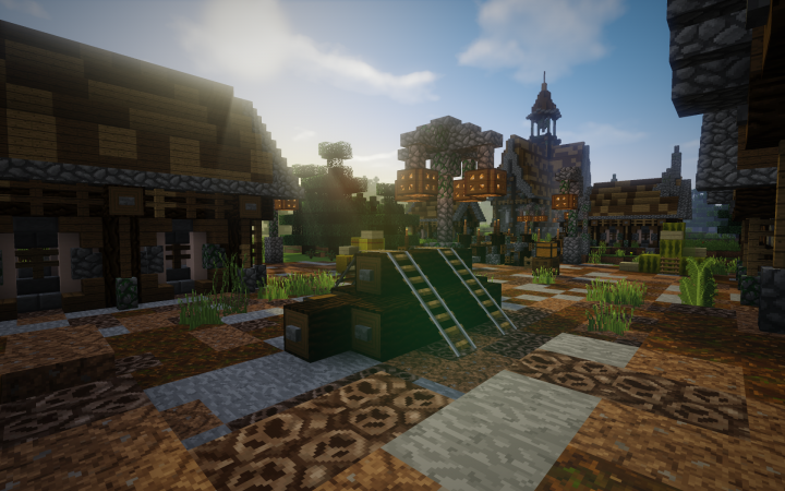 Village De Bucherons Minecraft Project