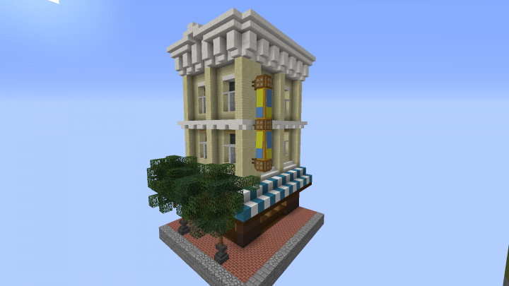 Tinyton usa american mainstreet minecraft project for Jewelry stores in usa
