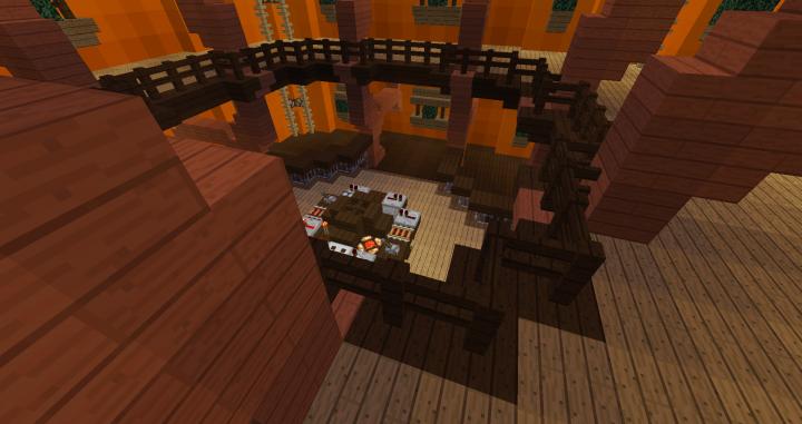 Custom Tardis Interior V9 Minecraft Project