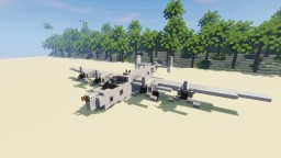 Consolidated B-24 Liberator 1,5:1 Minecraft Project