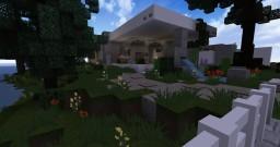Amberstone: Maison Moderne Minecraft