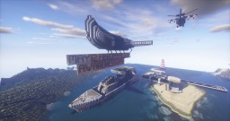 May 12 Fibromyalgia awareness day - Ship, Plane, Helicopter, House in a modern style Minecraft Map & Project