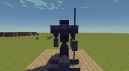 [EN] Robot statue  [FR] Statue Robot Minecraft Project